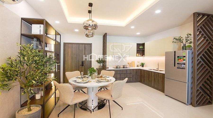 Căn hộ mẫu của chung cư 9X Ciao Bình Dương - phòng bếp