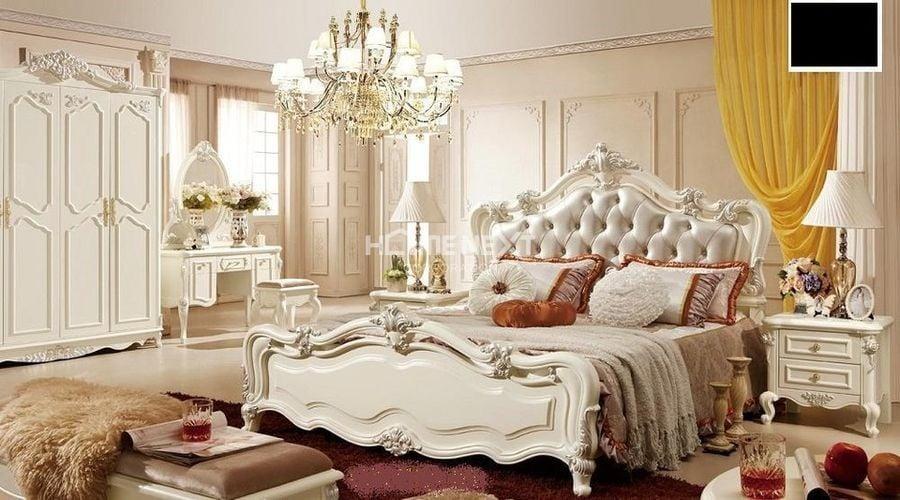 Nội thất sử dụng cho phòng ngủ cổ điển rất cầu kỳ, tinh tế