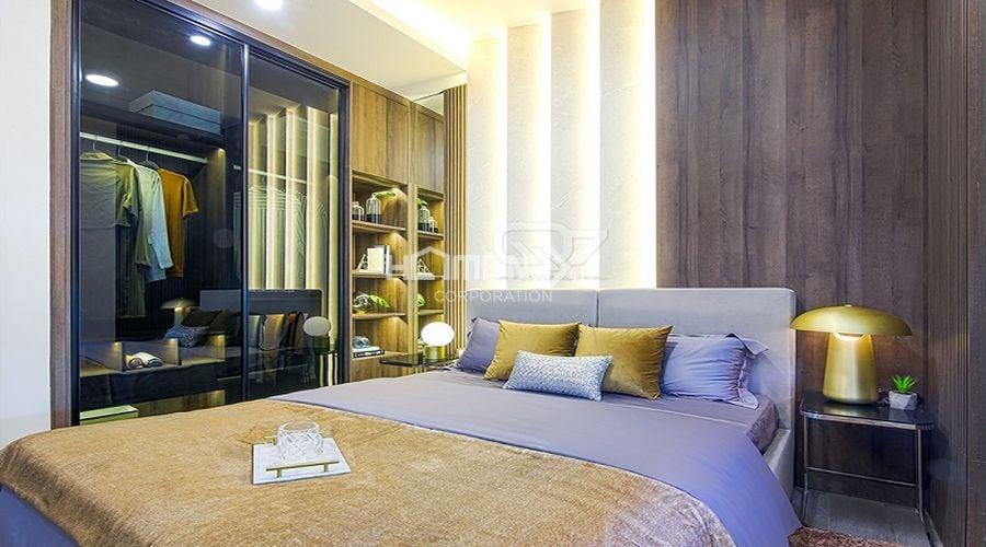 Căn hộ mẫu của chung cư 9X Ciao Bình Dương - phòng ngủ lớn