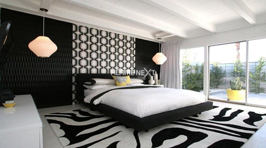 màu sắc phòng ngủ cho mệnh Thủy