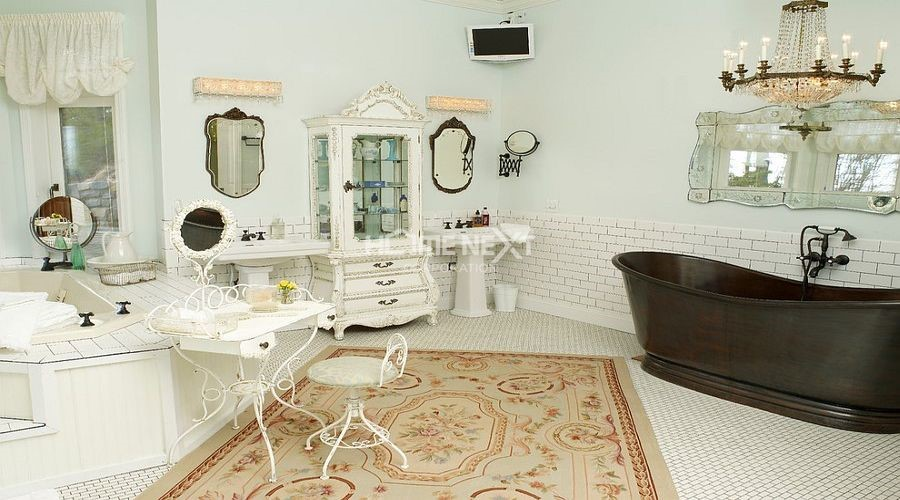 Phòng tắm thanh lịch và đầy sự tinh tế