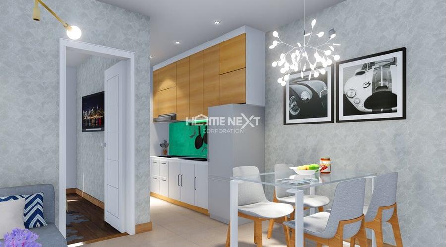 phòng bếp trong căn hộ dự án Phúc Đạt