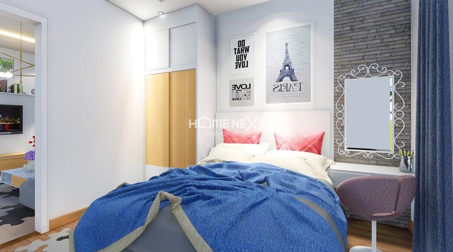 phòng ngủ lớn tại căn hộ