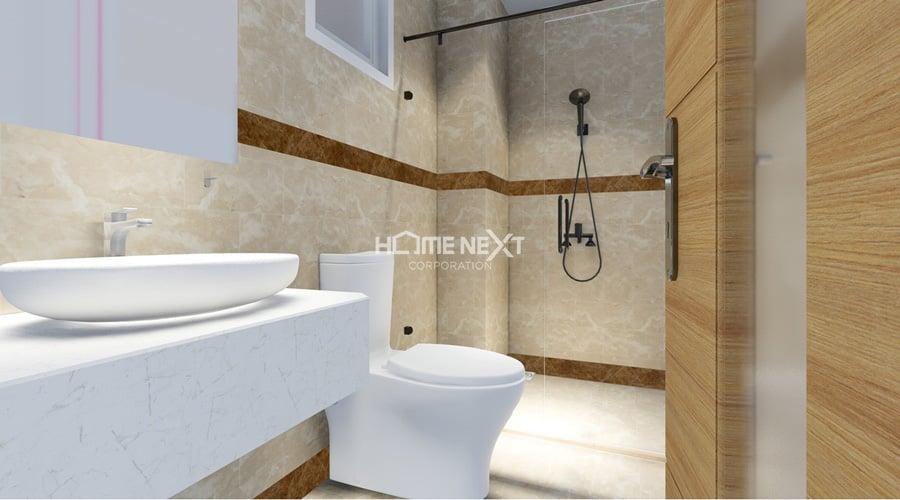 nhà vệ sinh trong căn hộ