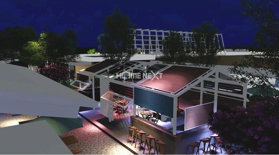 cảnh về đêm tại bar sky night