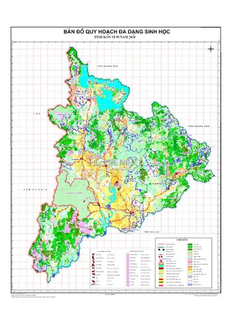 Bản đồ quy hoạch đa dạng sinh học