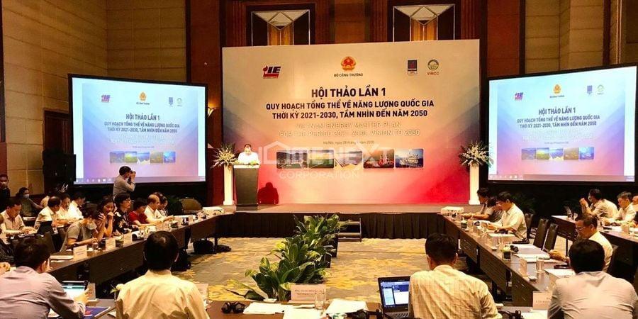 Hội thảo quy hoạch tổng thể năng lượng quốc gia