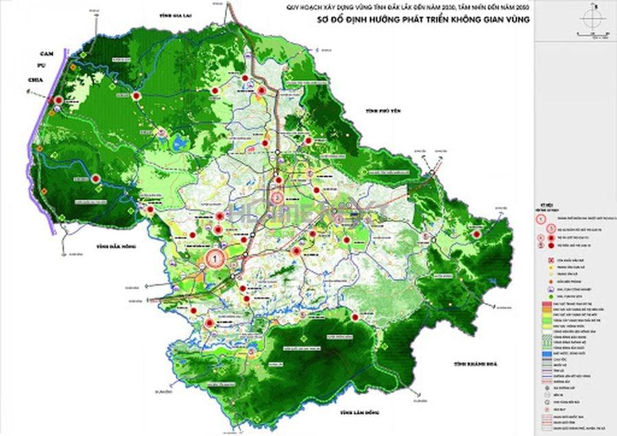 Bản đồ quy hoạch vùng