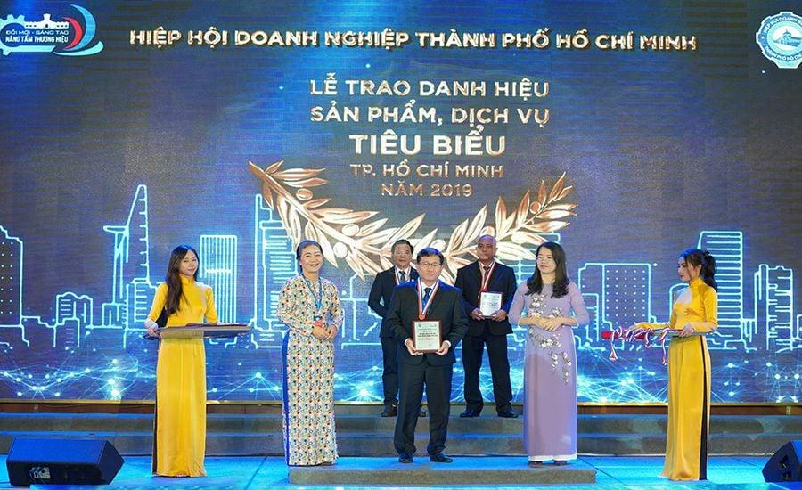 Giải thưởng sản phẩm, Dịch vụ tiêu biểu TP.HCM năm 2019