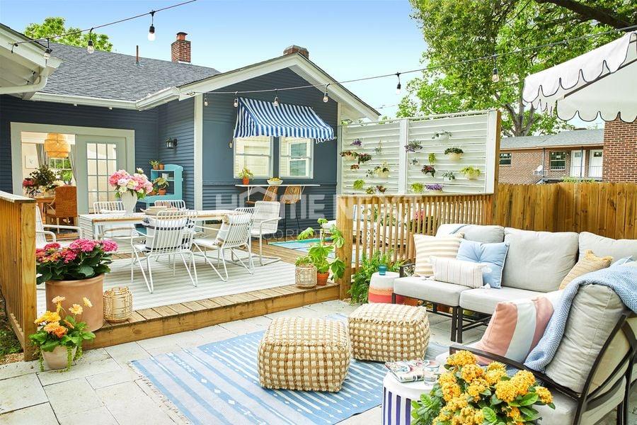 Thiết kế đa dạng, nhiều phong cách cho sân vườn sau nhà