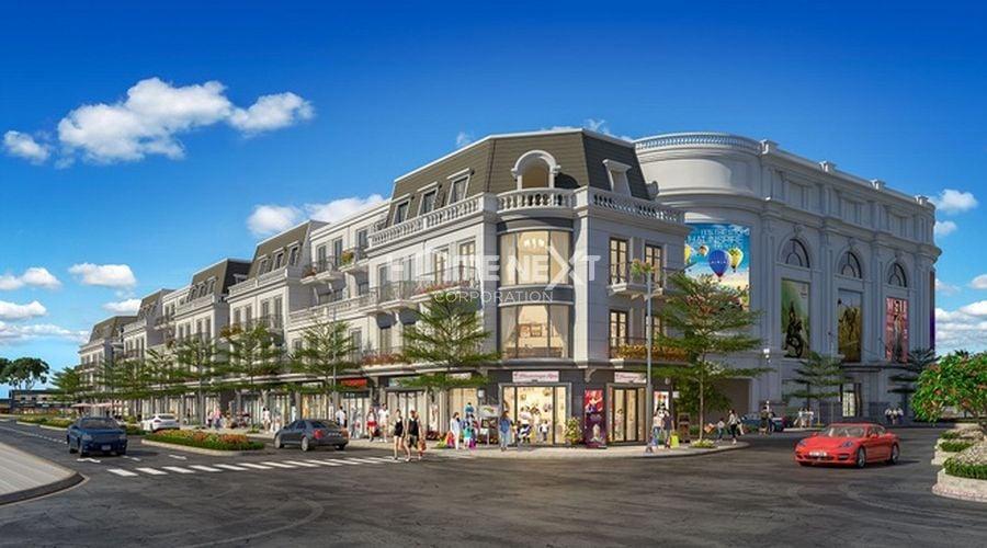 Trung tâm thương mại và shophouse Vinhome Dĩ An
