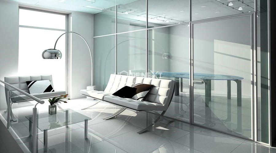 Sử dụng vật liệu trong suốt trong thiết kế căn hộ