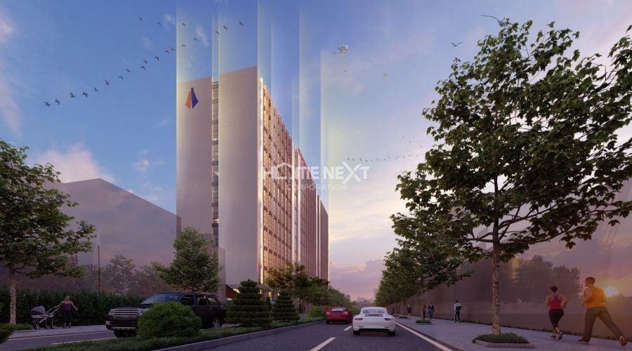 Phối cảnh dự án chung cư TechPort City