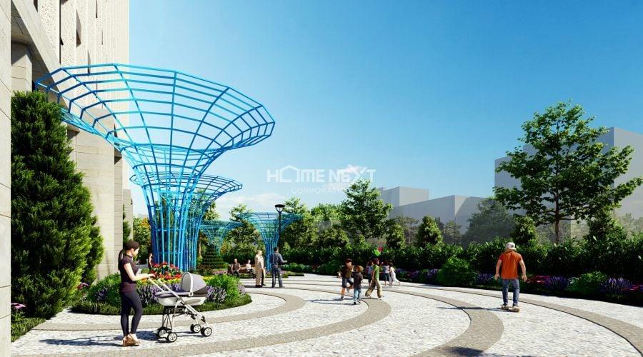 Tiện ích quảng trường dạo bộ tại TechPort City