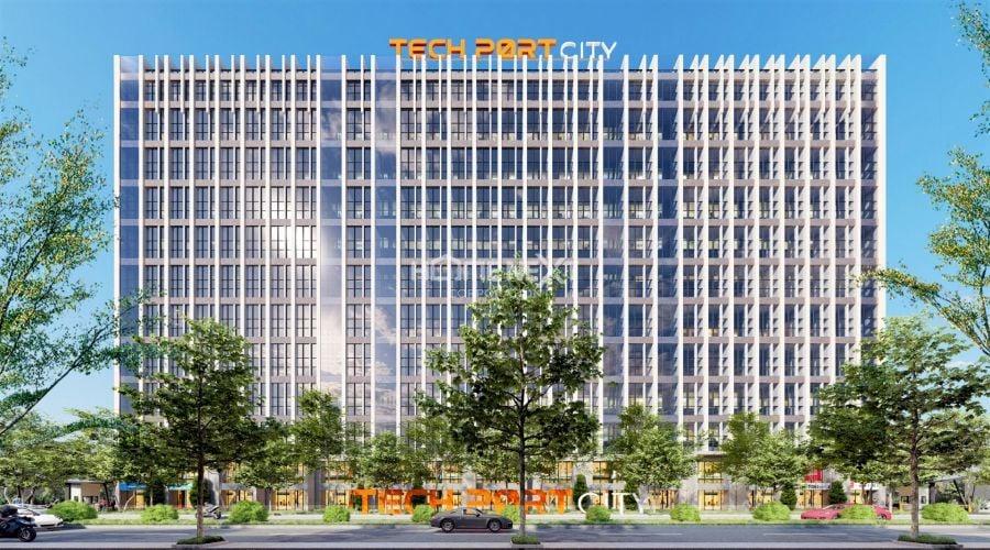 Phối cảnh tòa chung cư Techport City Nam Tân Uyên