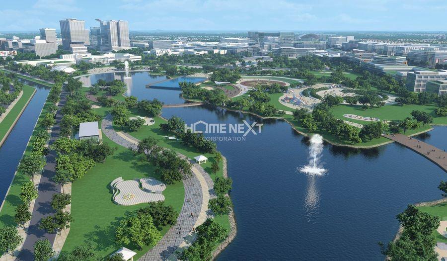 Công viên thành phố mới Bình Dương