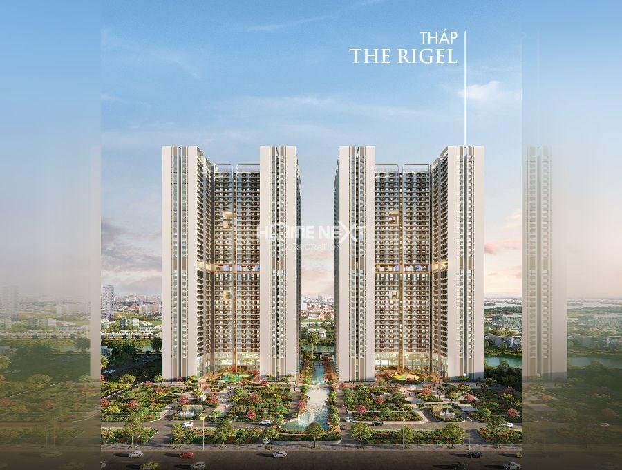 Mặt bằng tầng điển hình căn hộ Astral City - Tháp The Rigel