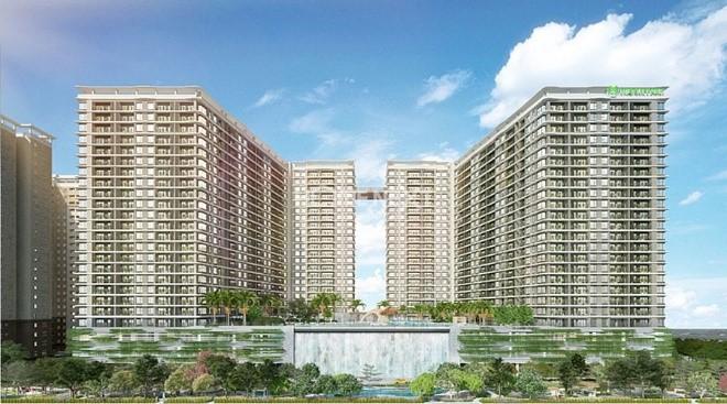 the-gloryPhối cảnh tổng thể dự án căn hộ Midori Park The Glory
