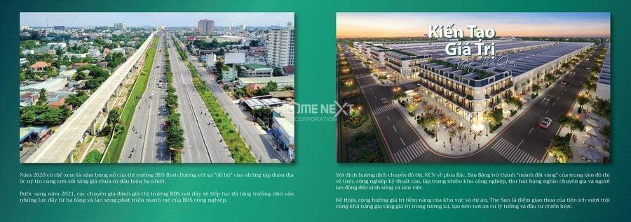 dự án khu dân cư Đức Phát đón đầu hệ thống giao thông hàng đầu Bàu Bàng