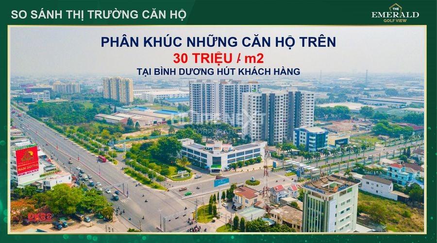 Thị trường dự án căn hộ tại Thuận An