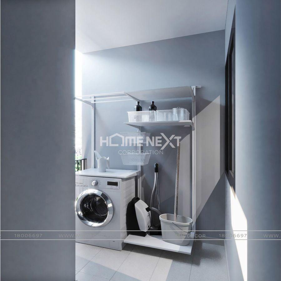 Phòng tắm và phòng giặt của Eco Xuân Blcok C