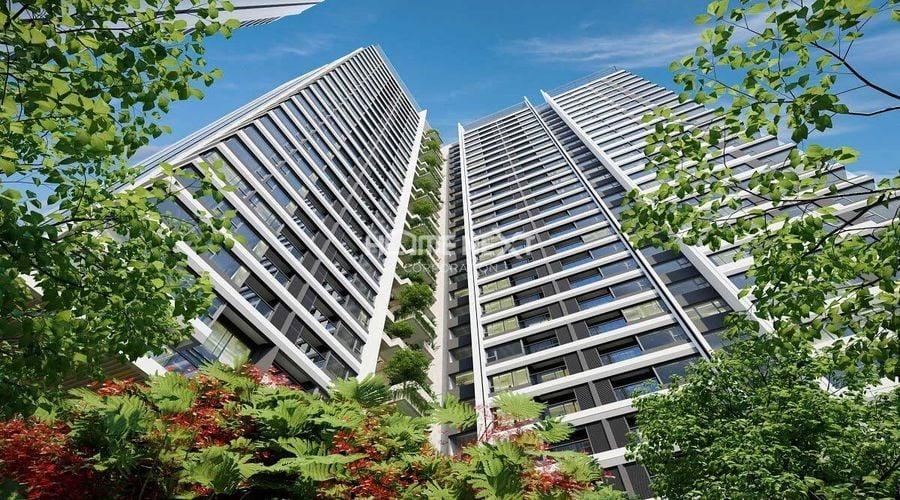 Thiết kế căn hộ hiện đại, có tầm nhìn thoáng rộng