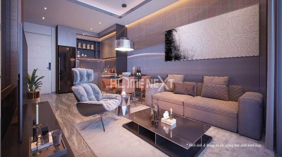Không gian căn hộ Astral City sang trọng, hiện đại như khách sạn 5 sao