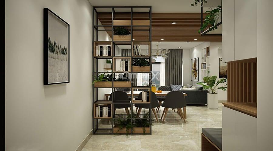 thiet-ke-noi-that-dep-04Sử dụng các vách tủ tạo cảm giác rộng rãi hơn cho căn hộ thay vì sử dụng tường gạch