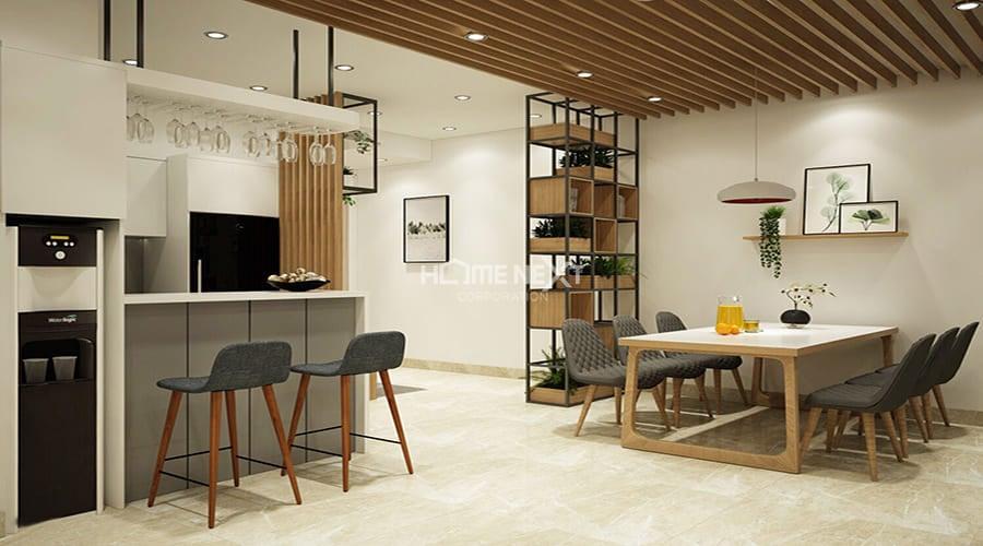 Sử dụng đồ nội thất theo phong cách hiện đại vừa đơn giản nhưng lại tạo điểm nhấn