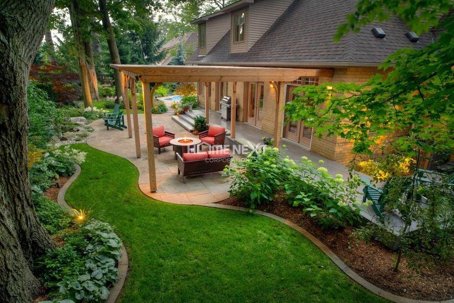 Xác định các yếu tố không gian sân vườn