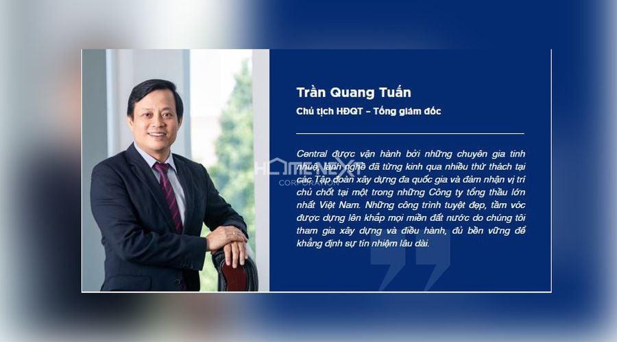 Chủ tịch HĐQT - Tổng giám đốc công ty Central