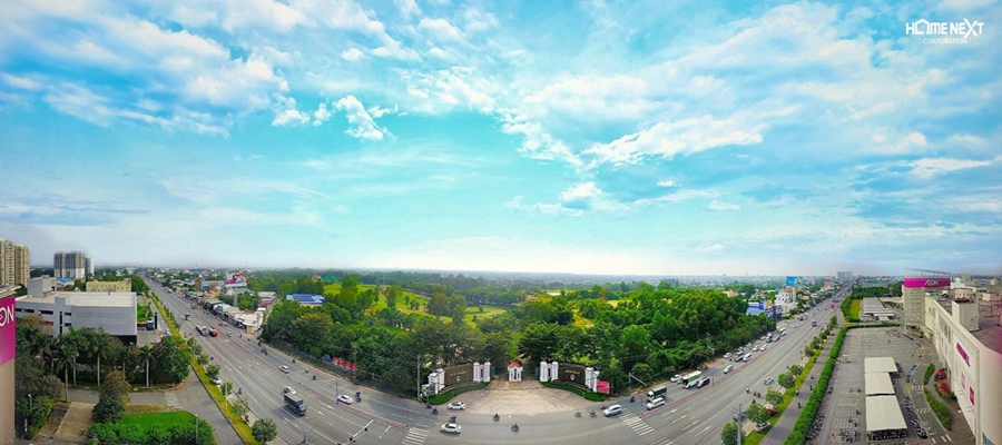 Cơ sở hạ tầng thành phố Thuận An được quy hoạch, phát triển đồng bộ