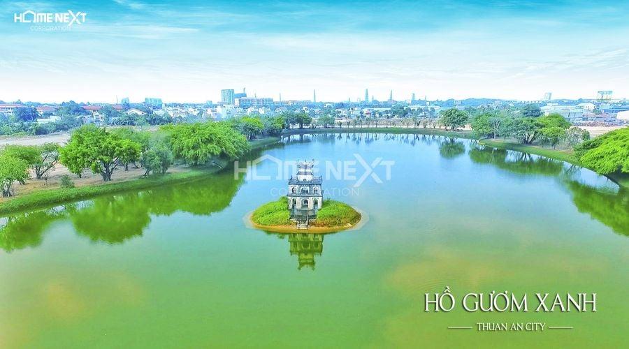 Hồ Gươm nằm trong quỹ đất dự án Hồ Gươm Xanh Thuận An City