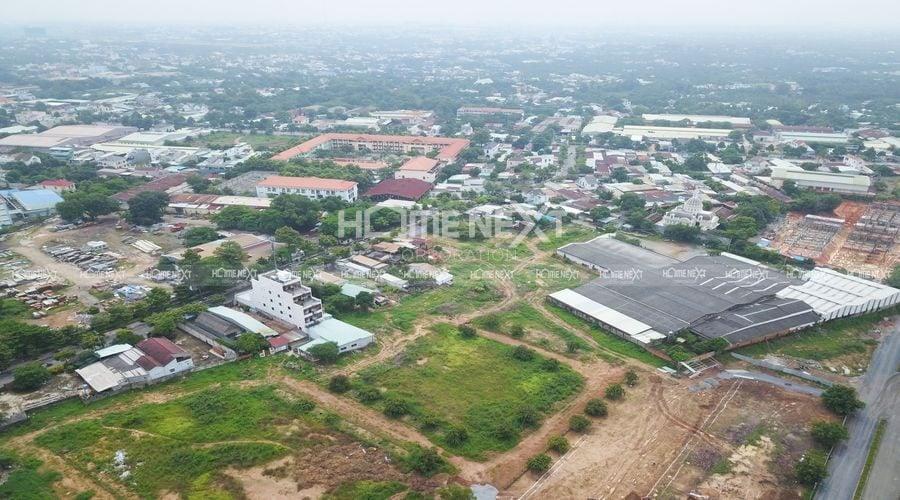 Vị trí dự án Takara Residence nhìn từ trên cao