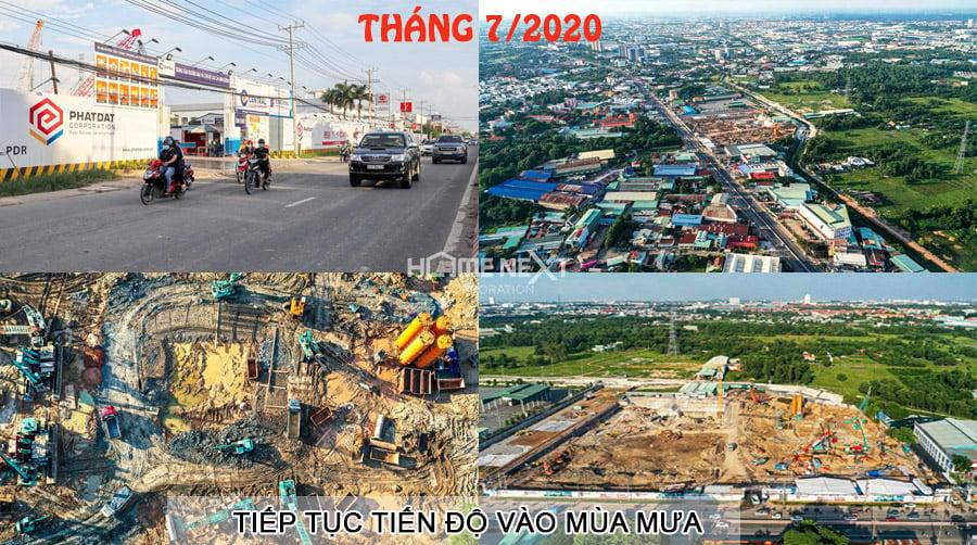 Tiến độ xây dựng Astral City tháng 7/2020