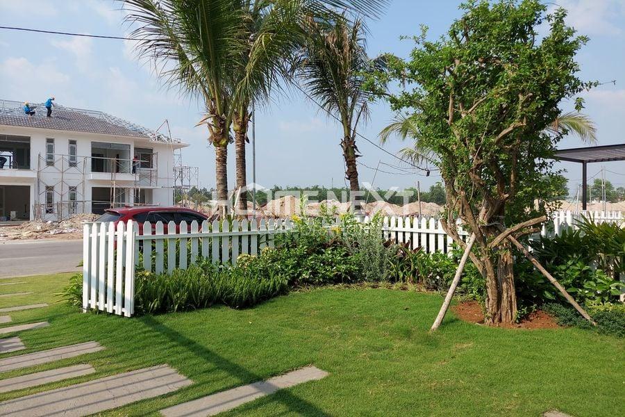 Sân vườn nhà phố của dự án Đại Phước Molita