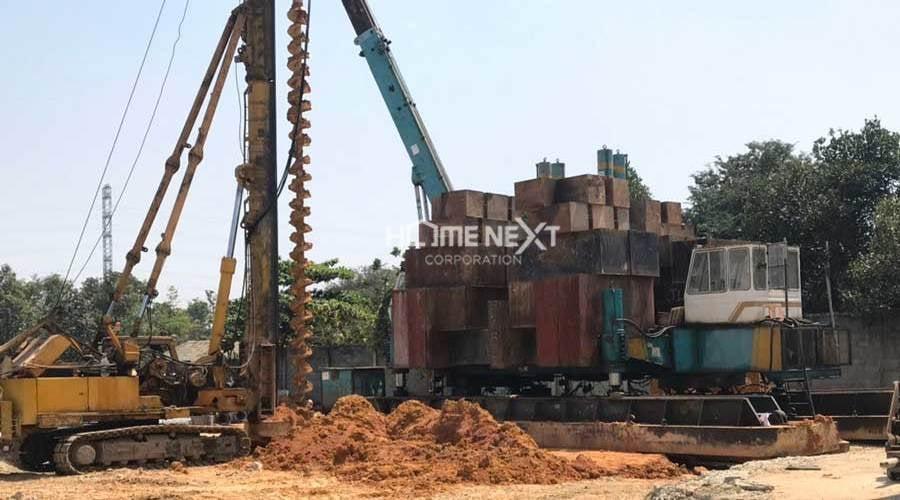 tiến độ xây dựng dự án Bình An Tower
