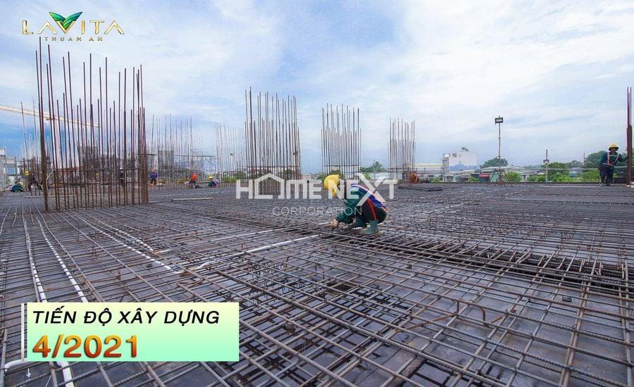 Tiến độ dự án Lavita Thuận An tháng 4/2021