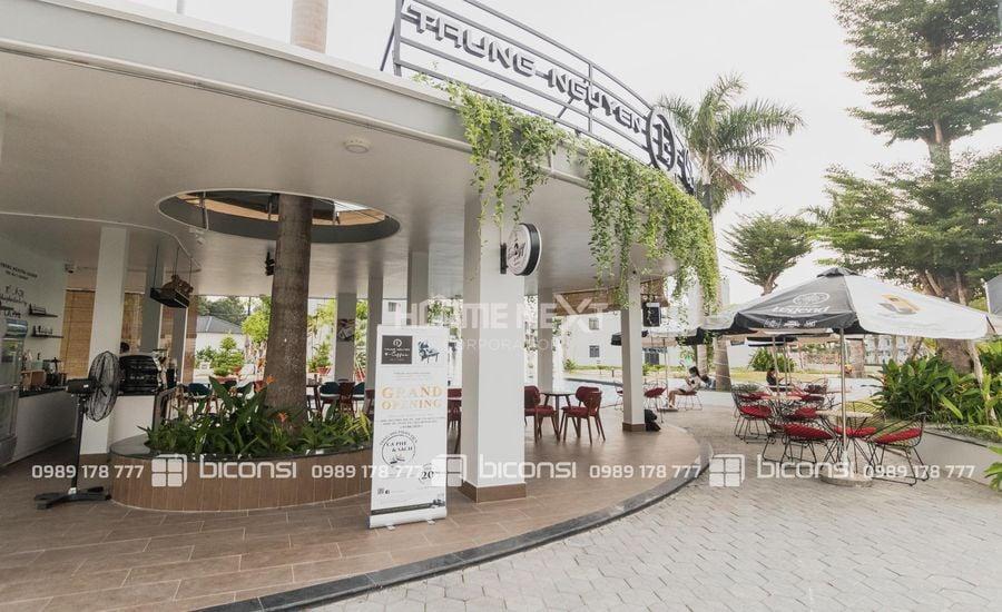 Quán Cafe vừa khai trương ngay tại dự án
