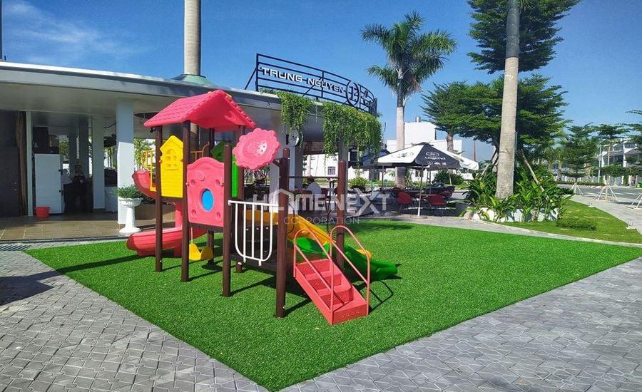 Một khu vực vui chơi dành cho trẻ em