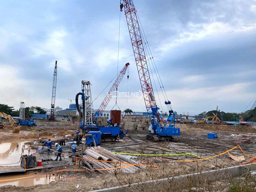 tiến độ xây dựng astral city bình dương vào tháng 6/2020