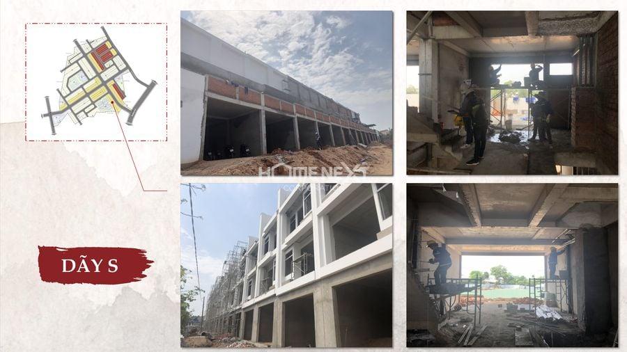 Tiến độ dự án Takara Residence tháng 4/2021