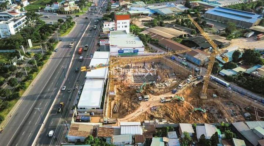 Tiến độ xây dựng tháng 11/2020
