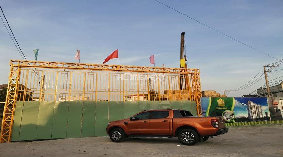 Tiến độ xây dựng dự án Tecco Home An Phú