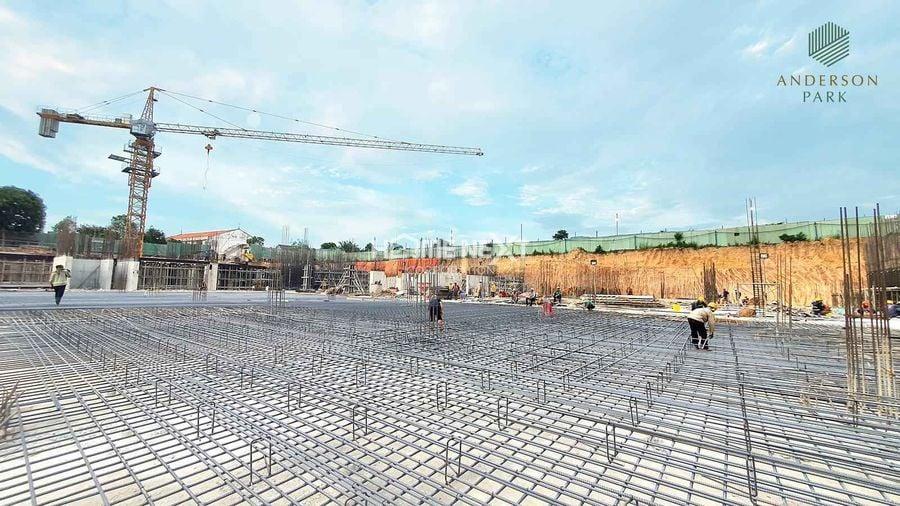 Tiến độ thi công mới nhất dự án Anderson Park