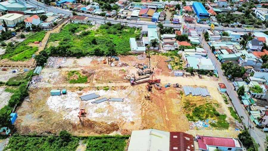Tiến độ xây dựng chung cư Bcons Plaza Dĩ An