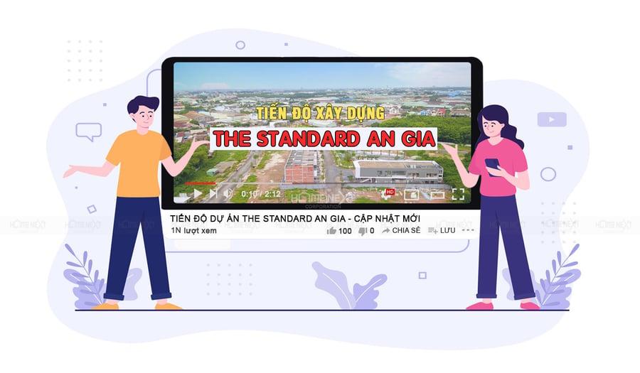 Tiến độ xây dựng dự án The Standard hiện đang được thực hiện nhanh chóng và kỹ lưỡng.