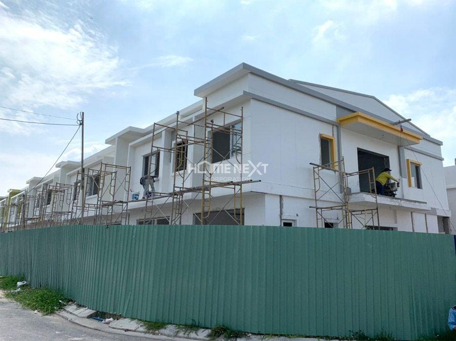 tiến độ xây dựng eco home 2 tháng 9/2020