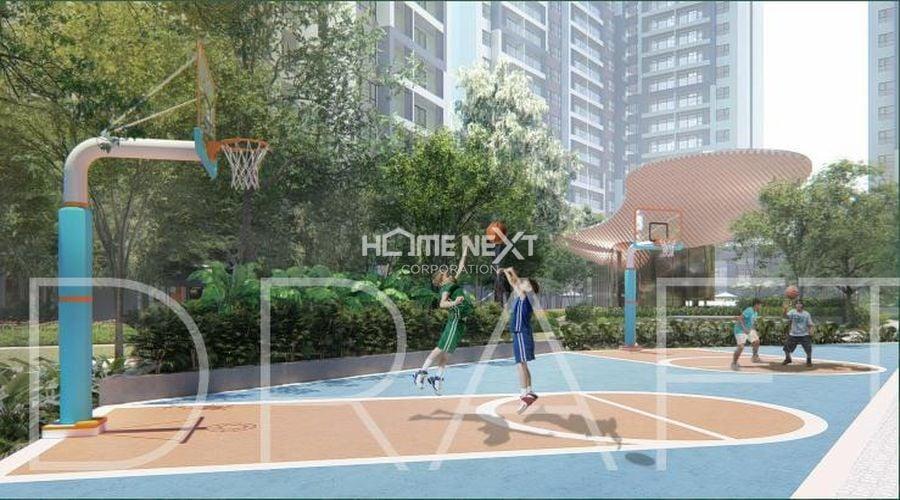 Sân bóng rổ luyện tập thể dục thể thao ngay tại Anderson Park