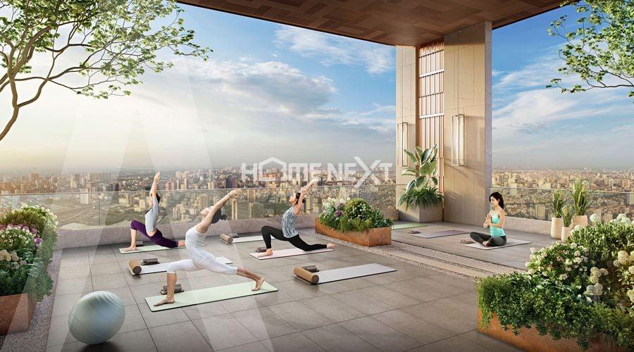 Khu vực Thiền, Yoga tại Astral City